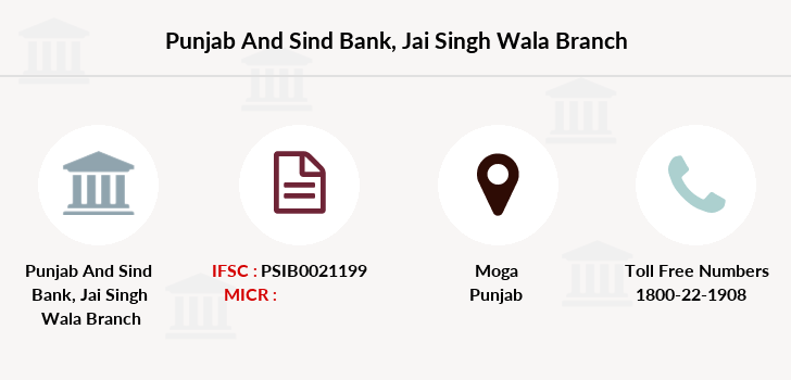 Punjab-and-sind-bank Jai-singh-wala branch