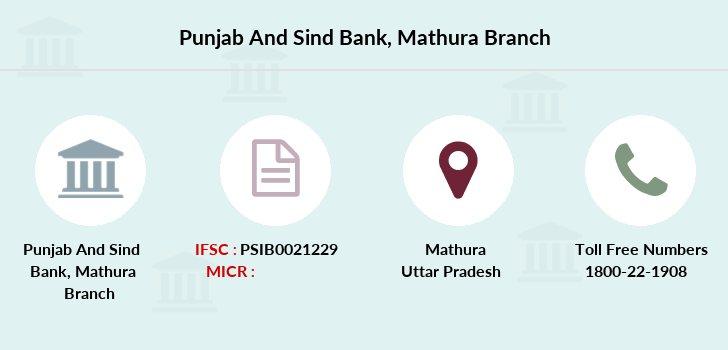 Punjab-and-sind-bank Mathura branch