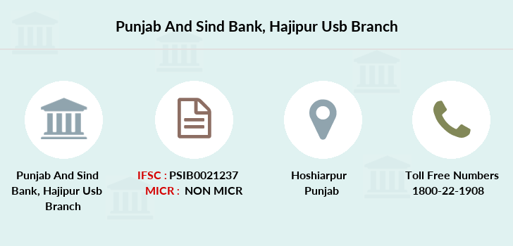 Punjab-and-sind-bank Hajipur-usb branch