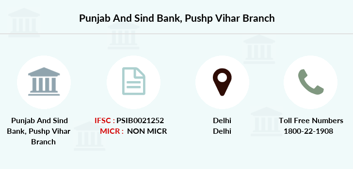 Punjab-and-sind-bank Pushp-vihar branch