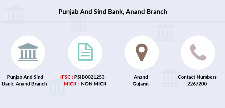Punjab-and-sind-bank Anand branch