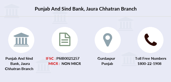 Punjab-and-sind-bank Jaura-chhatran branch