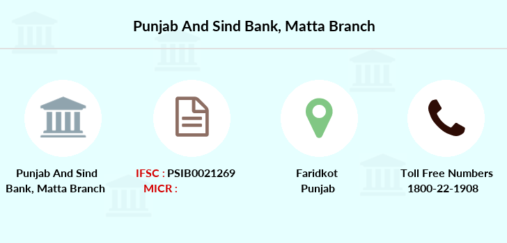 Punjab-and-sind-bank Matta branch