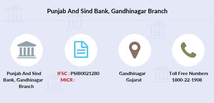 Punjab-and-sind-bank Gandhinagar branch