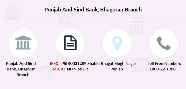 Punjab-and-sind-bank Bhagoran branch