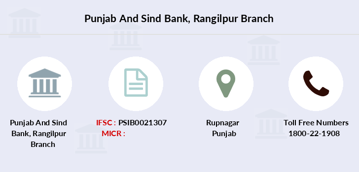 Punjab-and-sind-bank Rangilpur branch