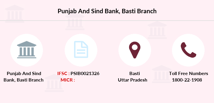 Punjab-and-sind-bank Basti branch