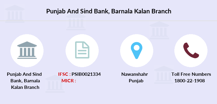 Punjab-and-sind-bank Barnala-kalan branch