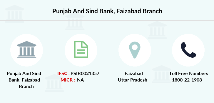 Punjab-and-sind-bank Faizabad branch