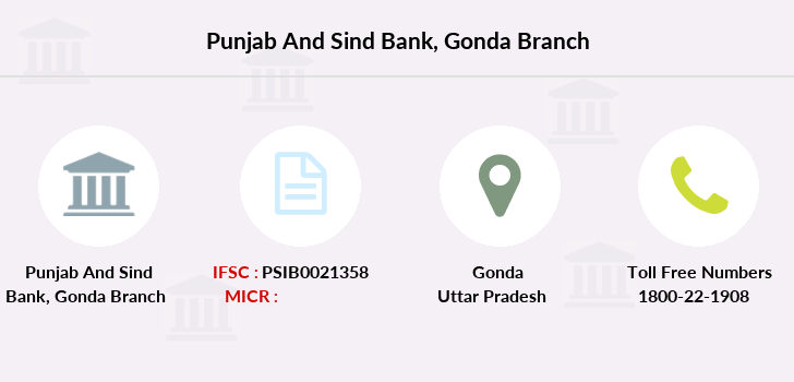 Punjab-and-sind-bank Gonda branch