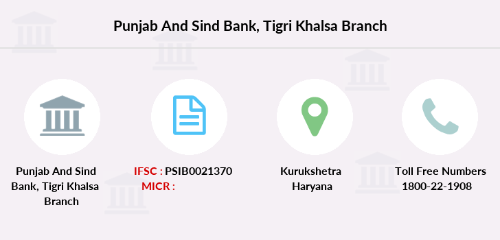 Punjab-and-sind-bank Tigri-khalsa branch