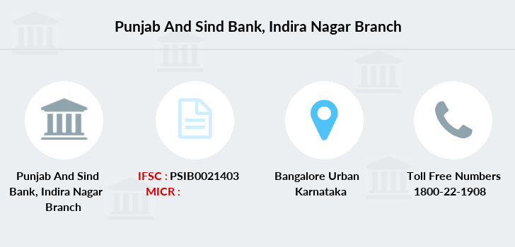 Punjab-and-sind-bank Indira-nagar branch