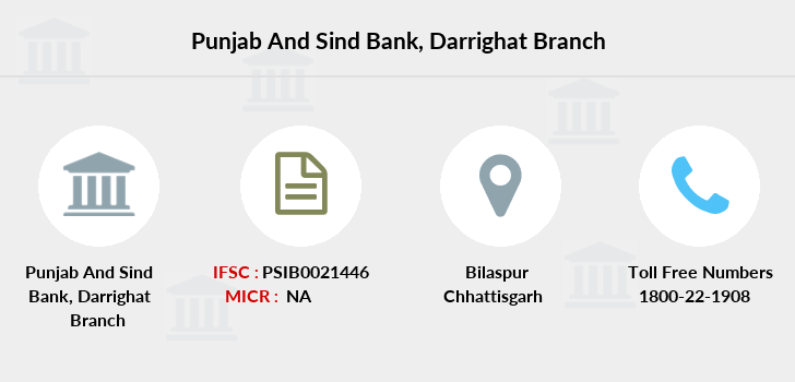 Punjab-and-sind-bank Darrighat branch