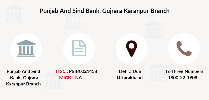 Punjab-and-sind-bank Gujrara-karanpur branch