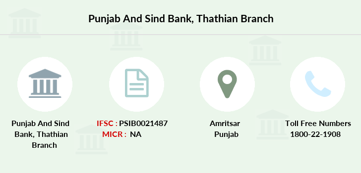 Punjab-and-sind-bank Thathian branch