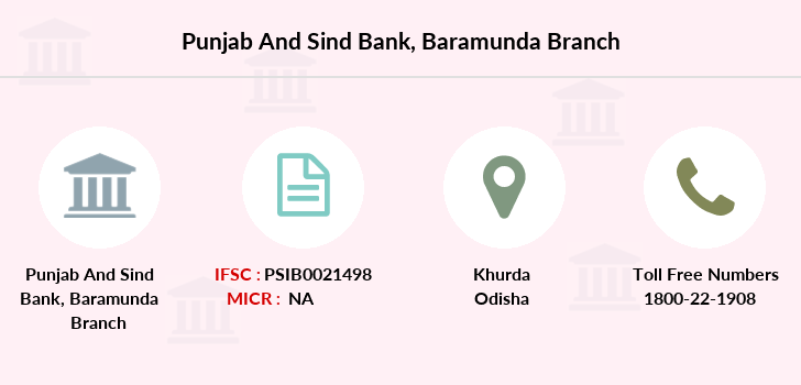 Punjab-and-sind-bank Baramunda branch