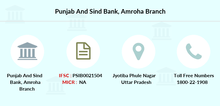 Punjab-and-sind-bank Amroha branch