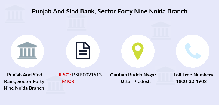 Punjab-and-sind-bank Sector-forty-nine-noida branch