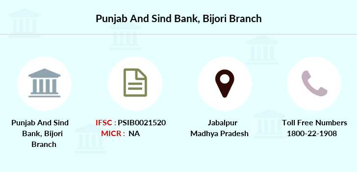 Punjab-and-sind-bank Bijori branch