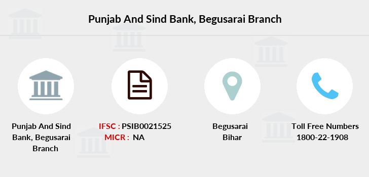 Punjab-and-sind-bank Begusarai branch