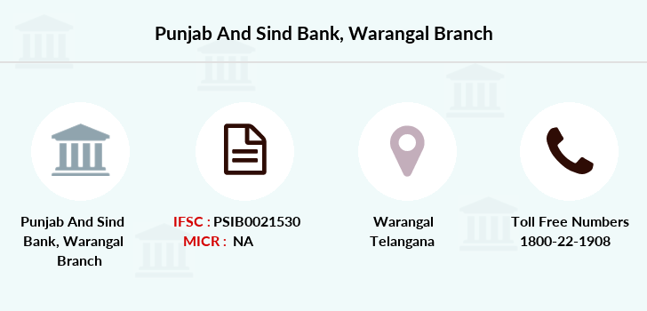 Punjab-and-sind-bank Warangal branch