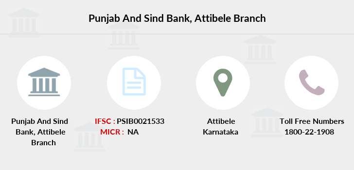 Punjab-and-sind-bank Attibele branch