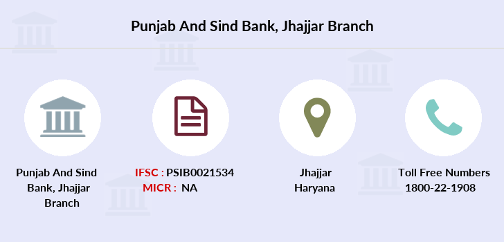 Punjab-and-sind-bank Jhajjar branch