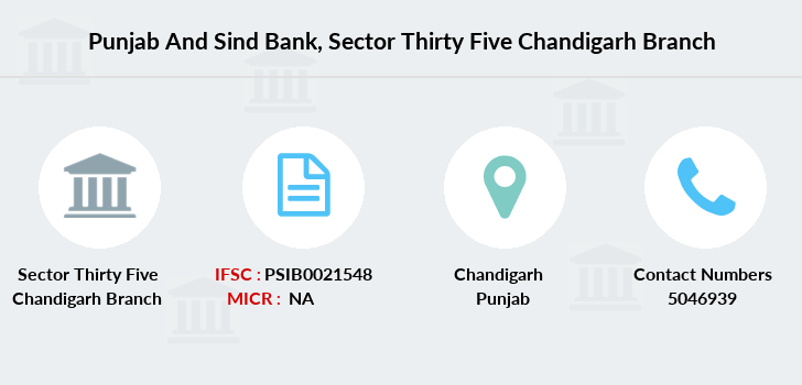 Punjab-and-sind-bank Sector-thirty-five-chandigarh branch
