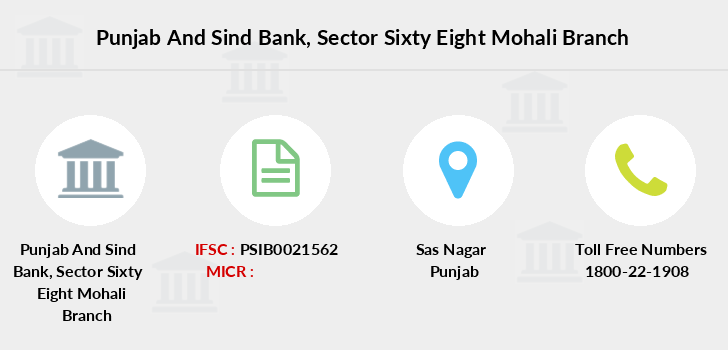 Punjab-and-sind-bank Sector-sixty-eight-mohali branch
