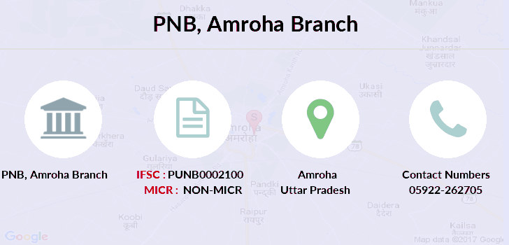 Punjab-national-bank Amroha branch