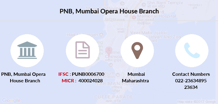 Punjab-national-bank Mumbai-opera-house branch