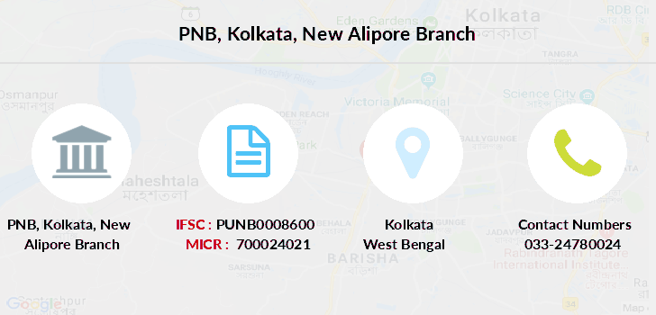 Punjab-national-bank Kolkata-new-alipore branch