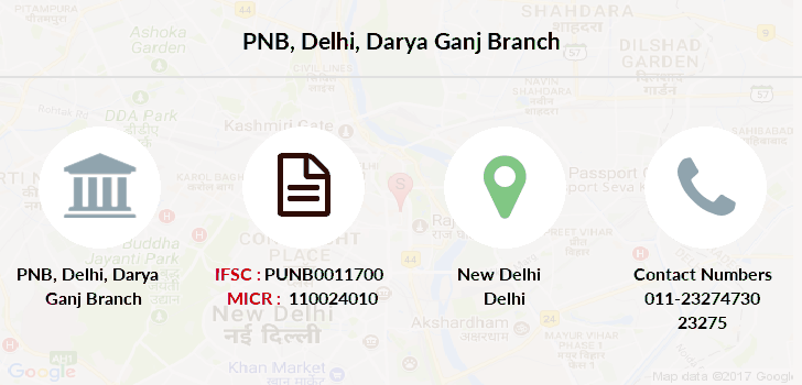 Punjab-national-bank Delhi-darya-ganj branch