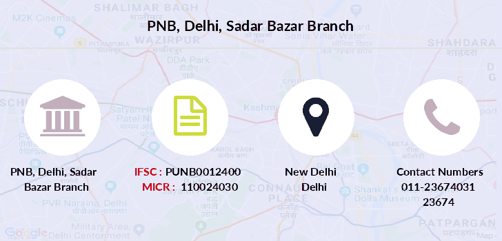 Punjab-national-bank Delhi-sadar-bazar branch