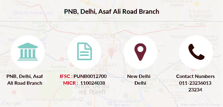 Punjab-national-bank Delhi-asaf-ali-road branch