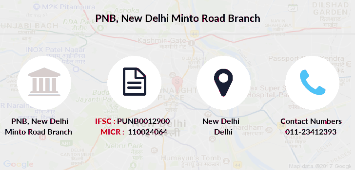 Punjab-national-bank New-delhi-minto-road branch