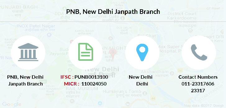 Punjab-national-bank New-delhi-janpath branch