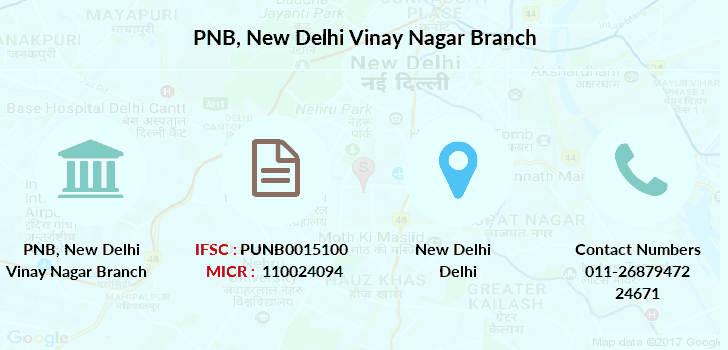Punjab-national-bank New-delhi-vinay-nagar branch