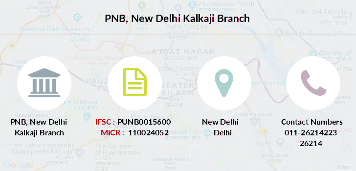Punjab-national-bank New-delhi-kalkaji branch