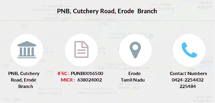 Punjab-national-bank Cutchery-road-erode branch