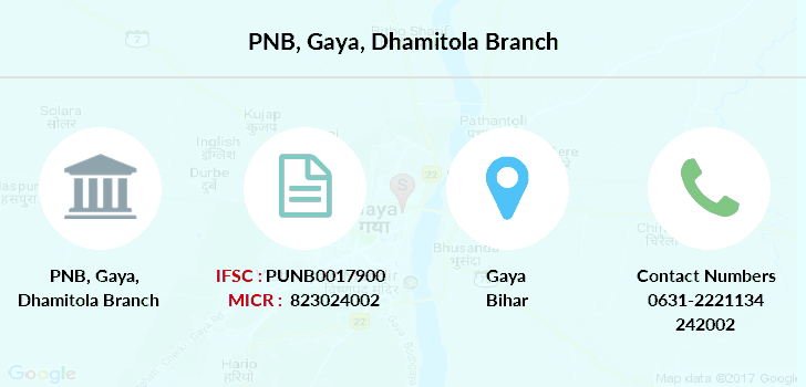 Punjab-national-bank Gaya-dhamitola branch