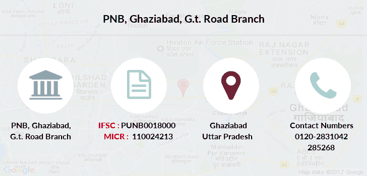Punjab-national-bank Ghaziabad-g-t-road branch