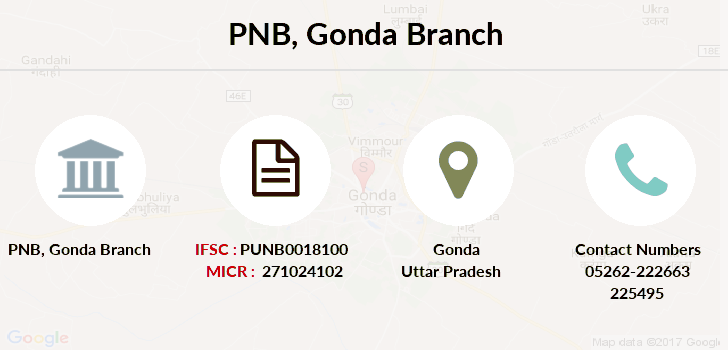 Punjab-national-bank Gonda branch