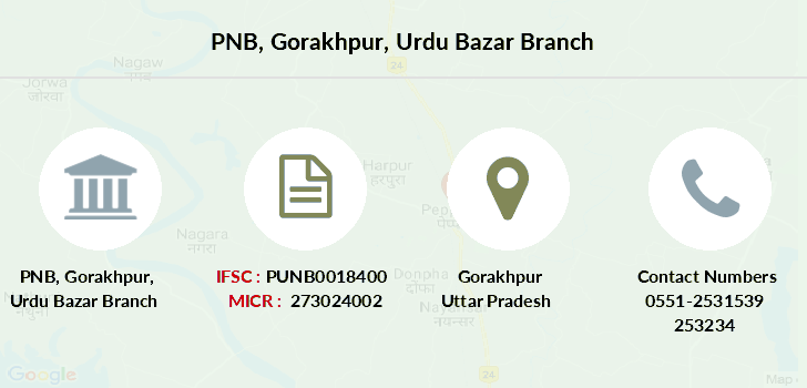 Punjab-national-bank Gorakhpur-urdu-bazar branch