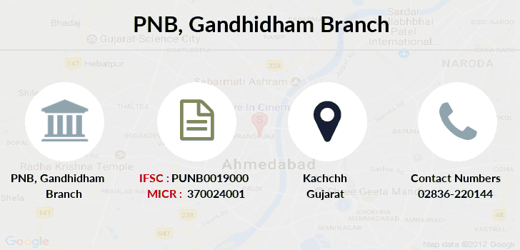 Punjab-national-bank Gandhidham branch