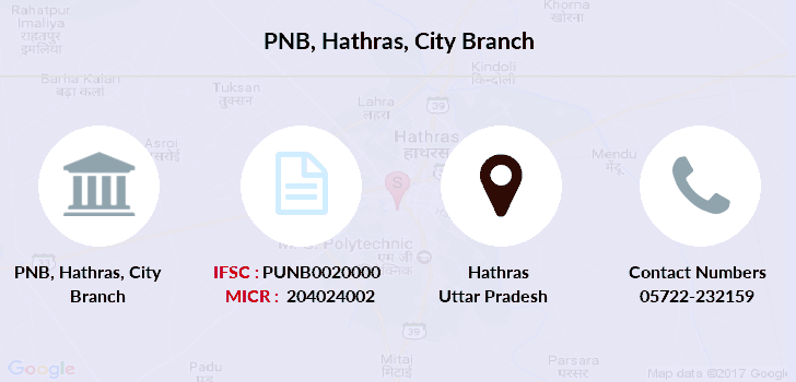 Punjab-national-bank Hathras-city branch