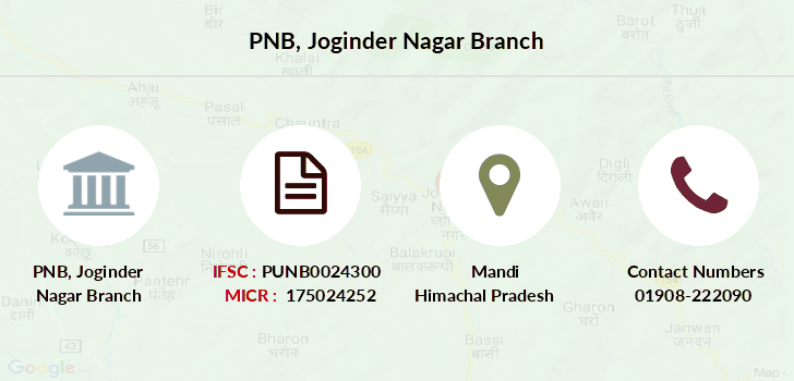 Punjab-national-bank Joginder-nagar branch