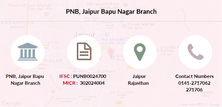 Punjab-national-bank Jaipur-bapu-nagar branch