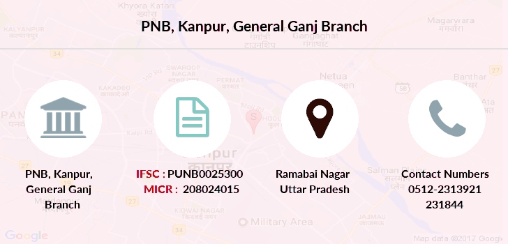 Punjab-national-bank Kanpur-general-ganj branch