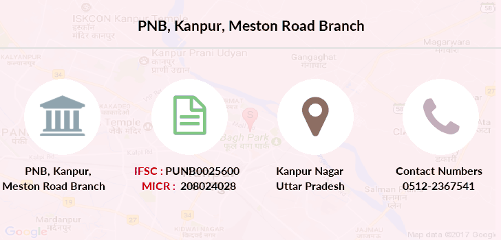 Punjab-national-bank Kanpur-meston-road branch